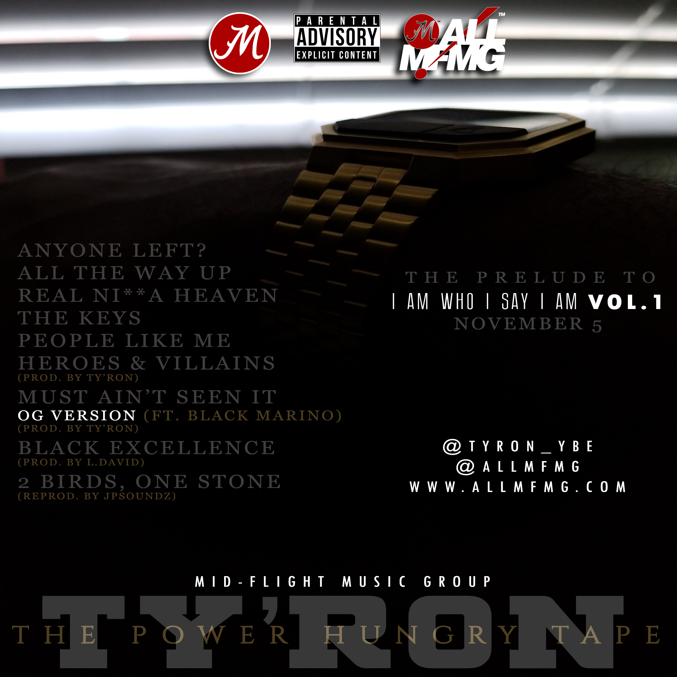 Ty'Ron – Power Hungry [ep]