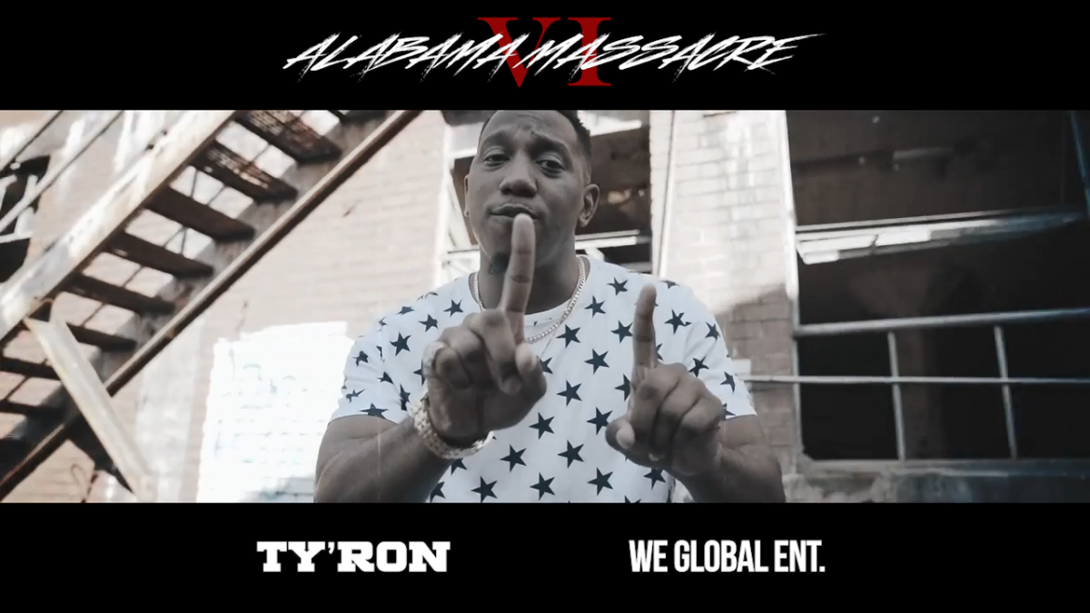 Ty'Ron – Alabama Massacre VI verse